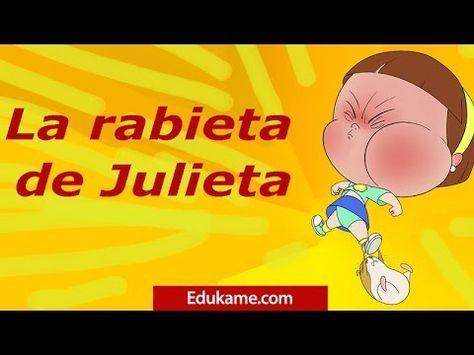 La rabieta de Julieta. Un cuento de educación emocional del Equipo Edúkame. Cuentacuentos. http://edukame.com/cuento-la-rabieta-de-julieta Un cuento para que...