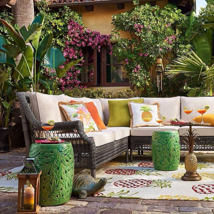 Sunset pier gray build your own sectional find this pin and more on outdoor inspiration by pier1imports