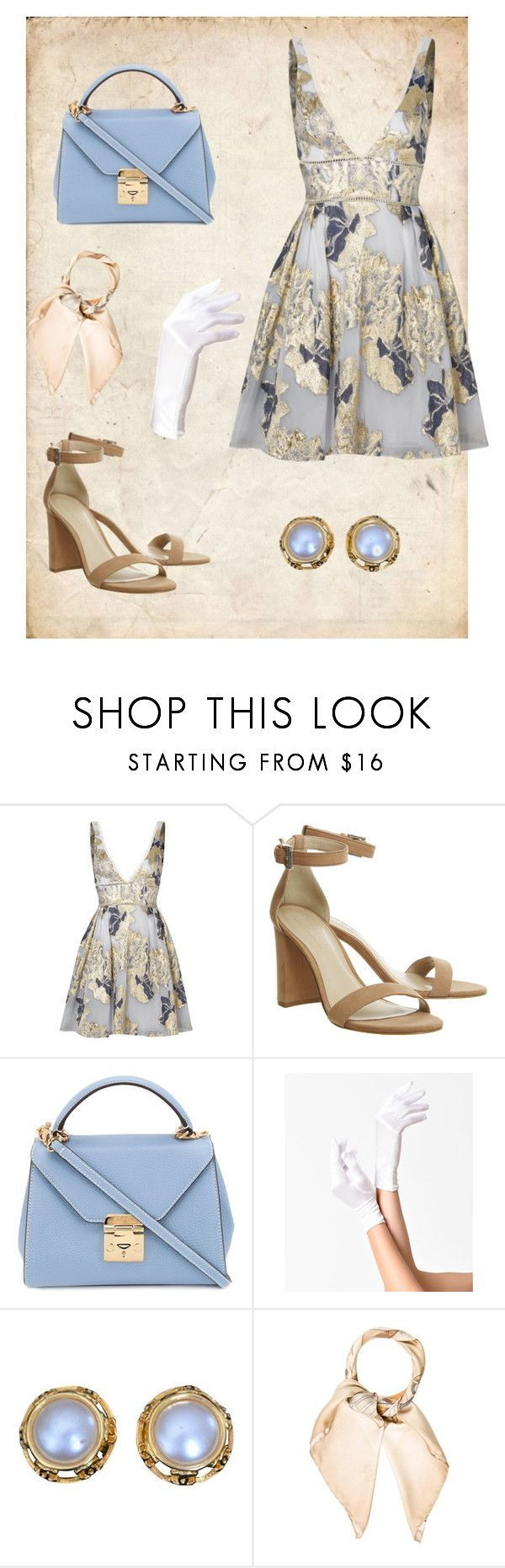 """""""Soften princess"""" by jelena-bozovic-1 ❤ liked on Polyvore featuring Notte by Marchesa, Mark Cross, Chanel and Burberry"""
