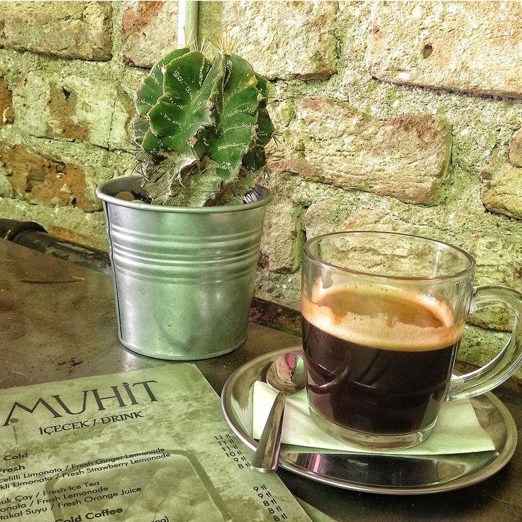 Karaköy - Muhit, morning americano