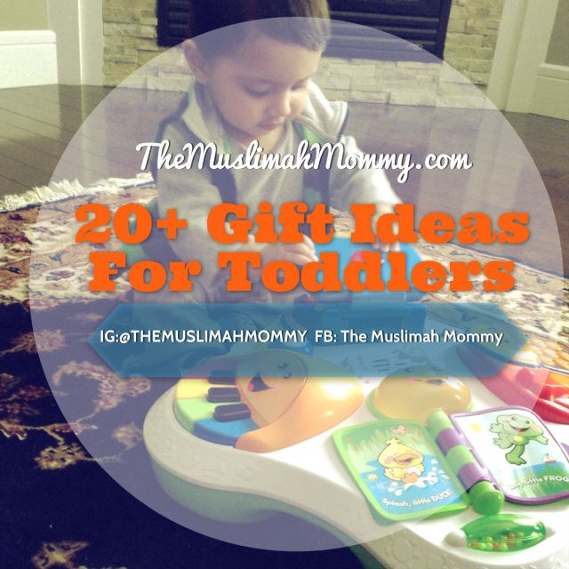 20+ Gift Ideas For Toddlers