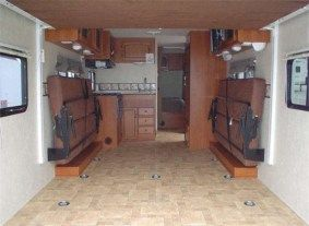 Best enclosed trailer camper coversion ideas (4)