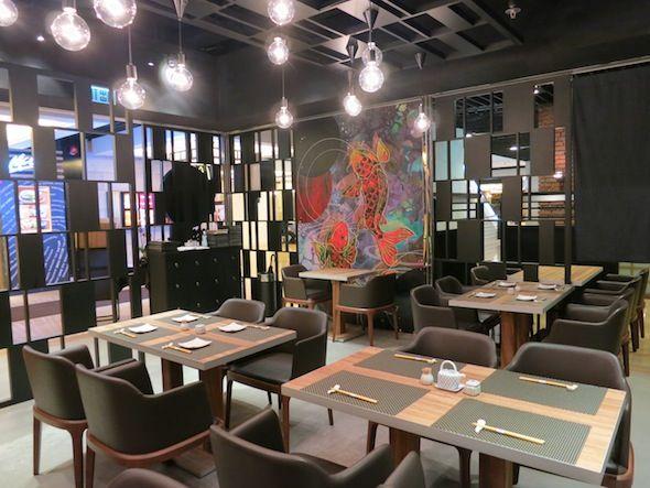 hatsu hk interior - Beaded Inset Restaurant Interior