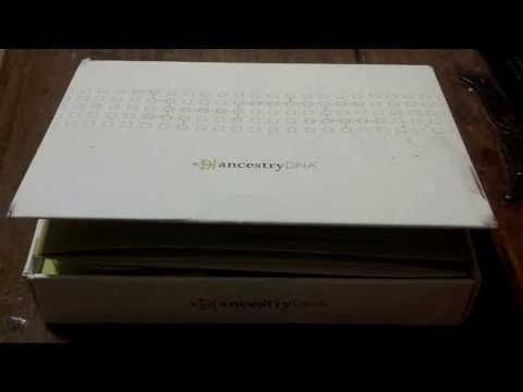 Ancestry DNA Kit Opening - YouTube