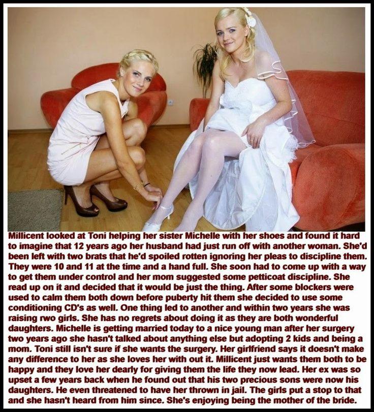 Petticoat discipline penetration