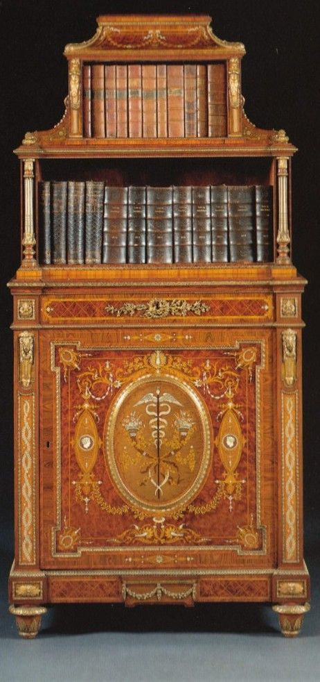 Cabinet By Holland And Sons. English. Circa 1865.