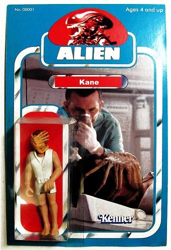 Unused 1979 Kenner Alien Kane Action Figure Prototype