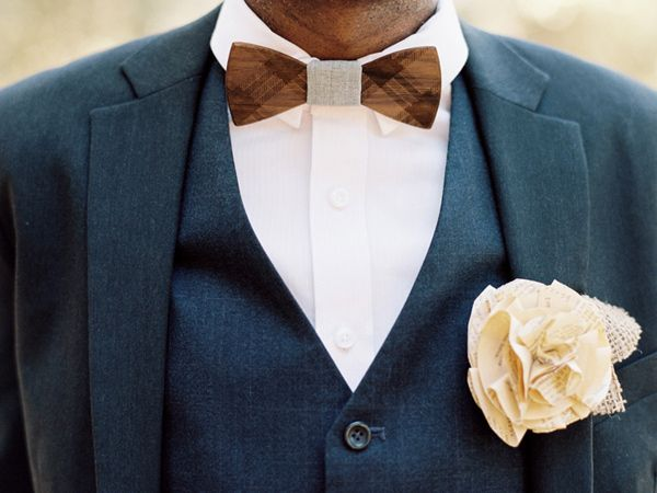 Image result for men wearing wood bow tie