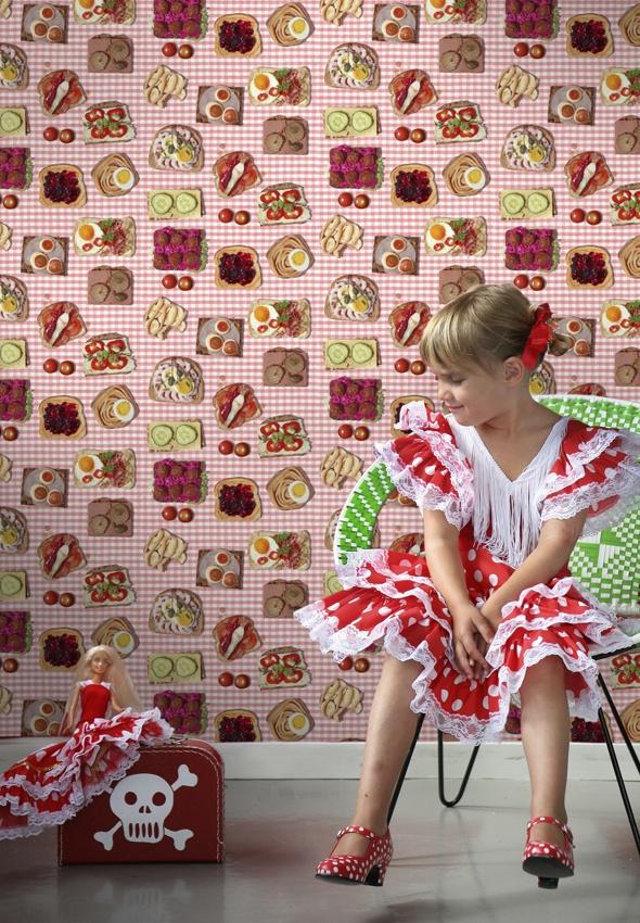 """Smorgasbord Rose"" wallpaper"