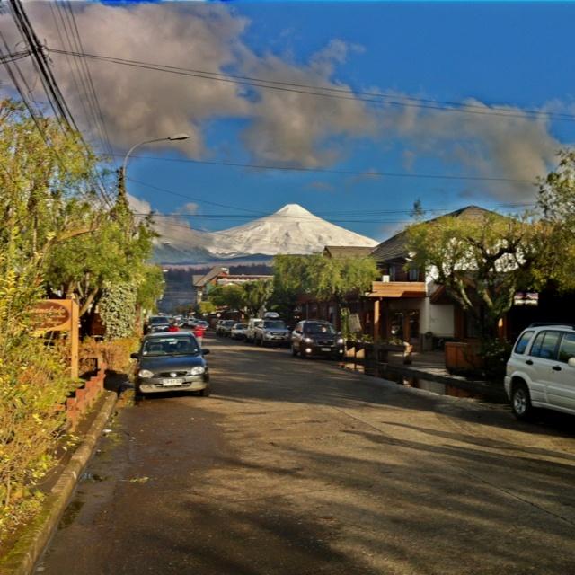 Volcan Villarrica...