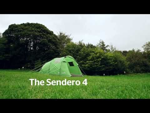 Freedom Trail Sendero 4 Family Tent | GO Outdoors