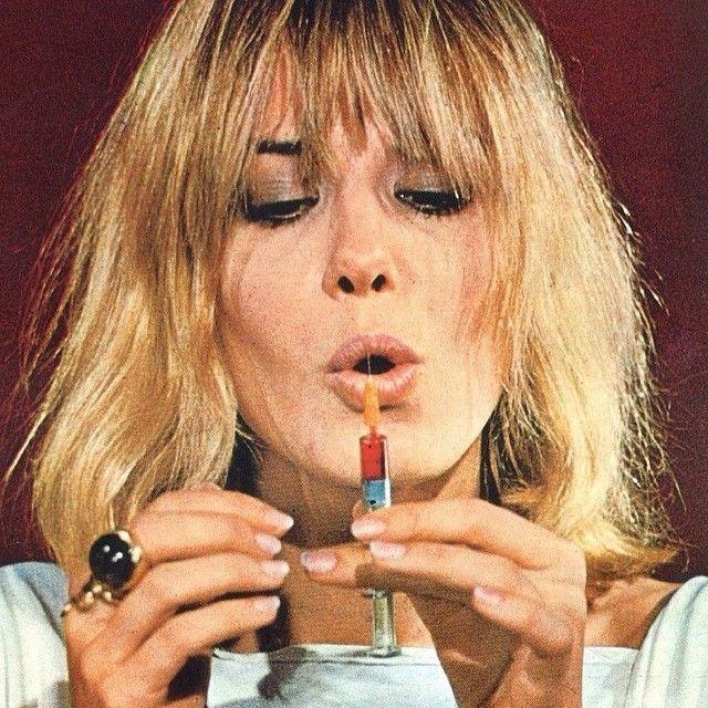 Opium den sex pot Anita Pallenberg , 1970