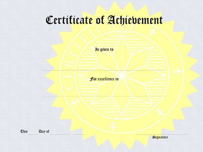 How to Make Certificates with Microsoft Word