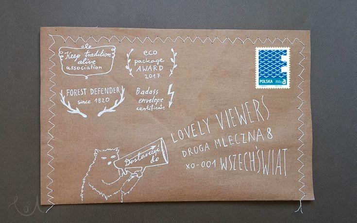 envelope design, envelope addressing, tuning koperty szytej #write_on