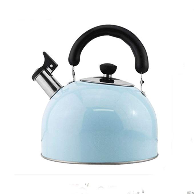 8haowenju Kettle Stainless Steel Kettle Gas Induction Cooker Safety Whistle Large Capacity Kettle 3l 4l 5l 6 Stainless Steel Kettle Kettle Stainless