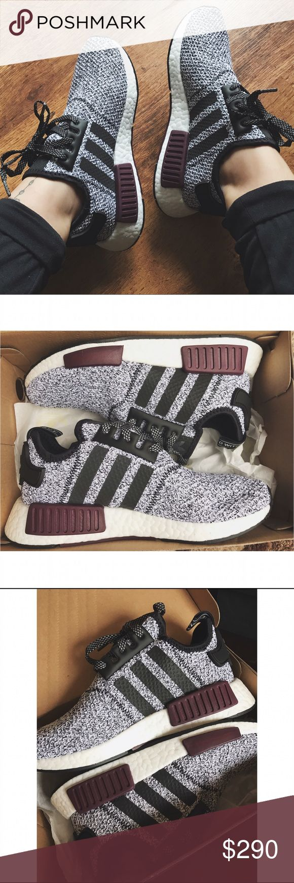 Adidas NMD R1 Champs Exclusive Youth 5= women's 6.5. Fit me and I'm a 7! These run a half size large! Brand new, with box. Price firm through Poshmark. Adidas Shoes Athletic Shoes