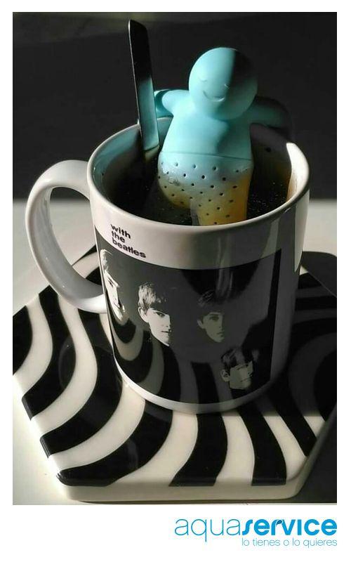 ¡Muy creativa! Estupenda foto de Ulises con su filtro para infusiones de nuestro sorteo otoñal. #ganaconaquaservice