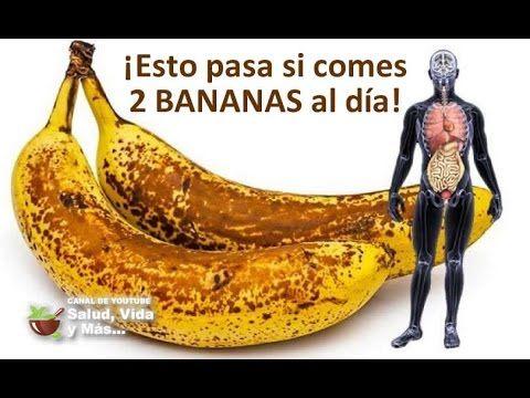 Si comes 2 BANANOS por día durante un mes, esto es lo que le sucede a tu cuerpo - YouTube