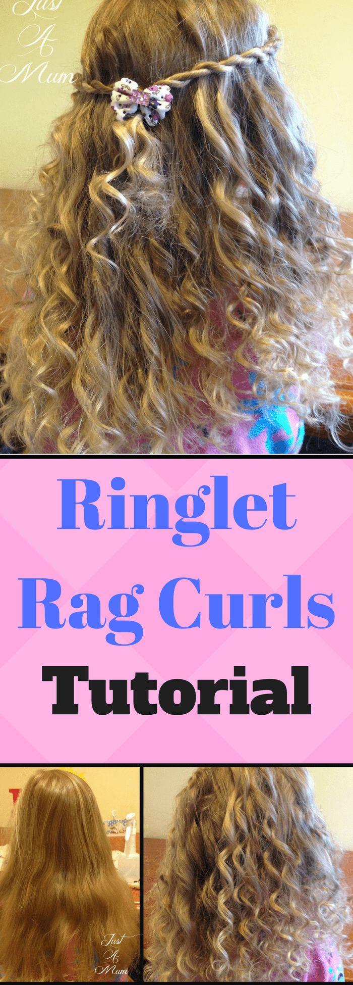No Heat Ringlet 'Rag' Curls – Hair Tutorial
