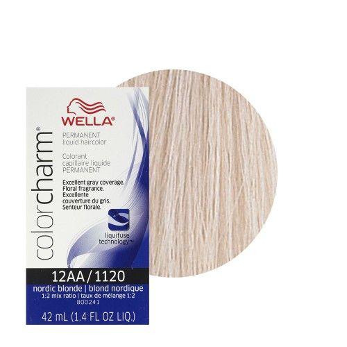 Wella Hair Dye 1120 Nord Blonde 1 4 Oz Hair Color Brands
