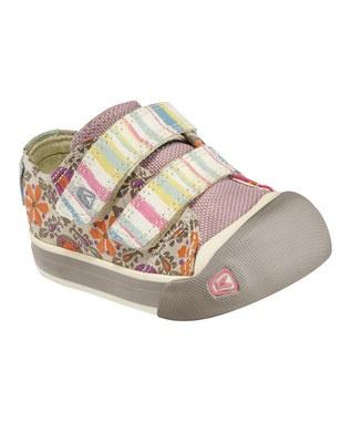 KEEN Kids.  Pink Stripe Sula Sneaker.  Perfect fall sneaker.  #fall #zulily