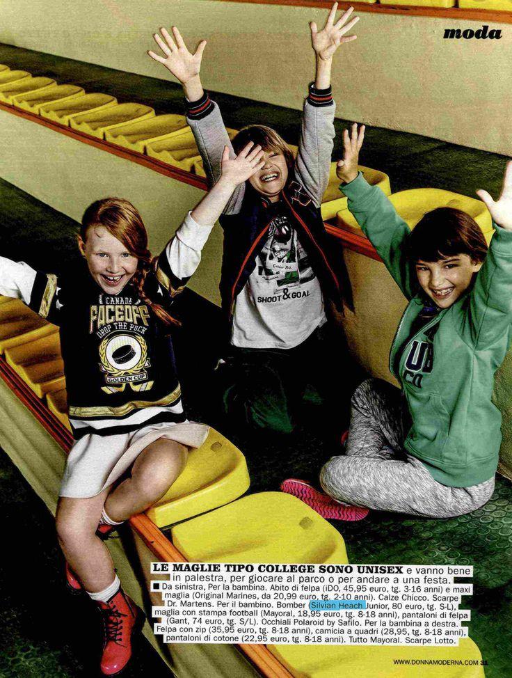 #SilvianHeachKids su #DonnaModerna. Trova il punto vendita Kids più vicino: http://www.silvianheach.com/it/stores/. #fashion #kids #press