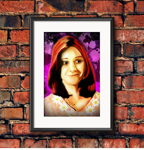 Check out this item in my Etsy shop https://www.etsy.com/ca/listing/550039473/willow-alyson-hannigan-buffy-the-vampire