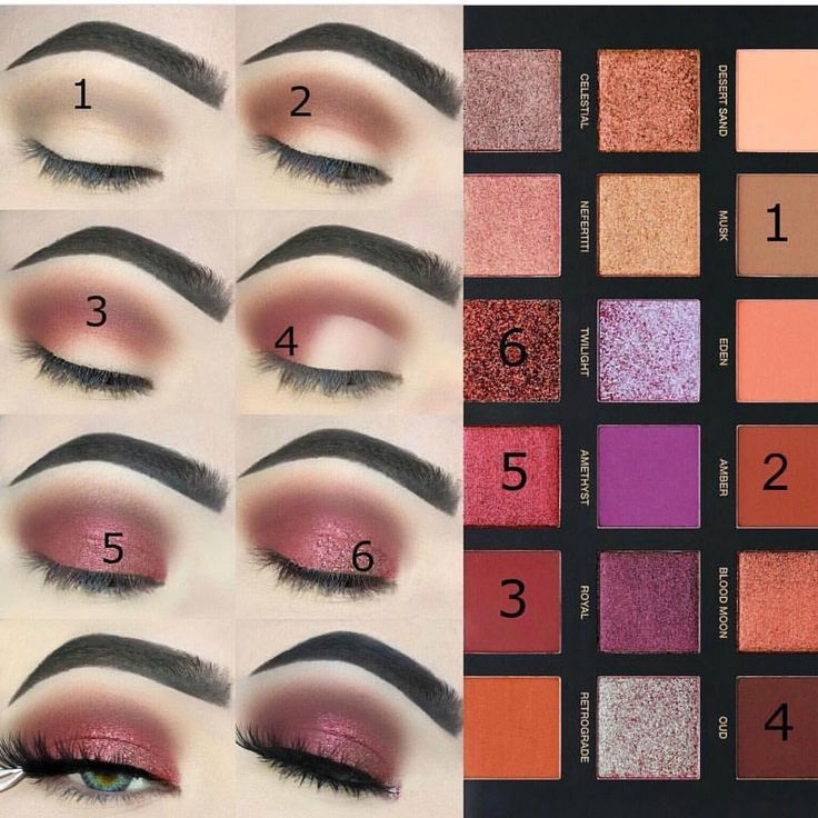 This eye makeup tutorial by @ashleyhawmakeup with the Huda Beauty Desert Dusk Palette is so beautiful We have serious brow envy though . Make sure you use #abeautyedit in your posts to notify us of new beauty launches