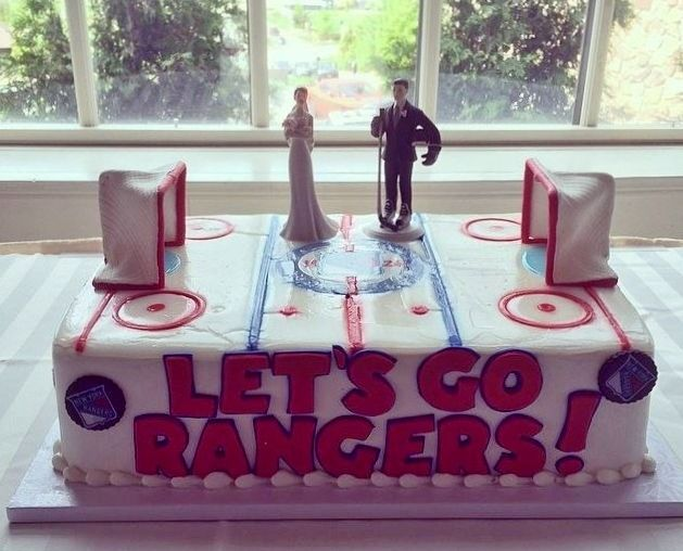 new york style wedding cakes new york themed wedding picture of new york rangers 17831