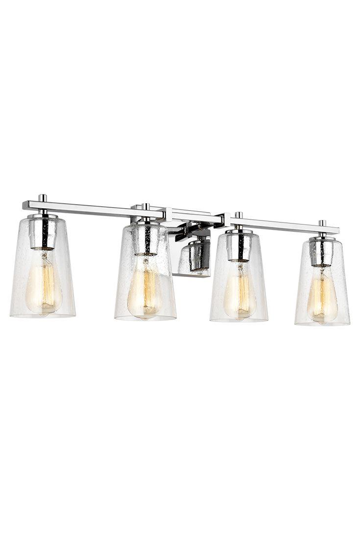 Unique 4 Light Vanity Bar