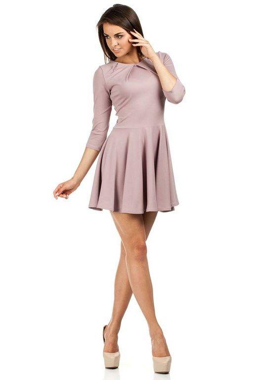 Lovely lavender globed dress
