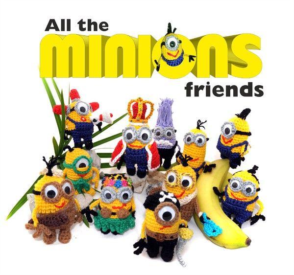 Minions & Friends - 11 Anleitungen - 11 verschiedene Minions