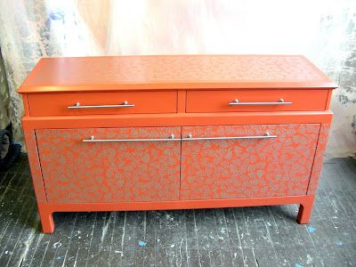 This is one of the best painted pieces of furniture I've ever seen online!