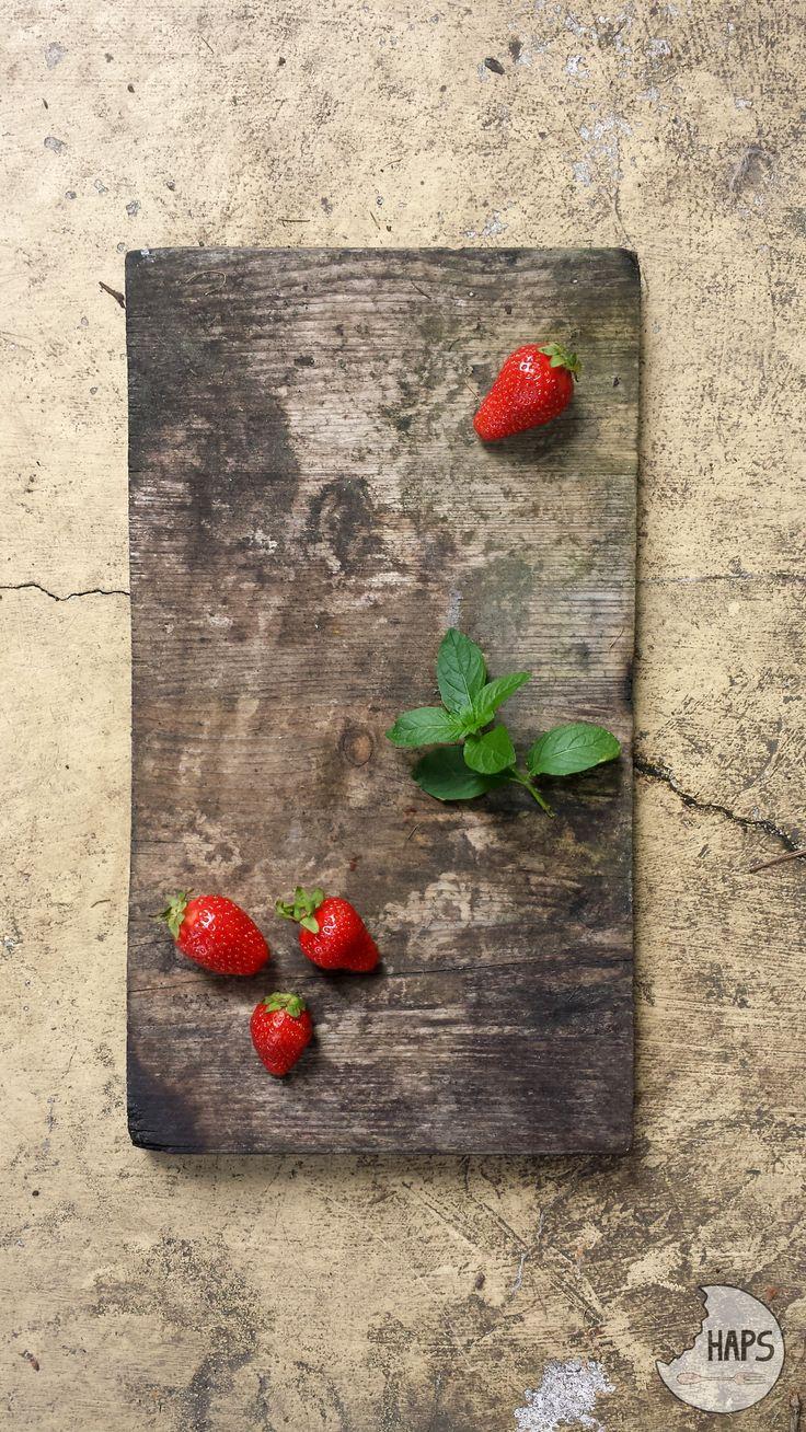 Strawberry & mint. Summertime. / Truskawki i mięta. Lato!