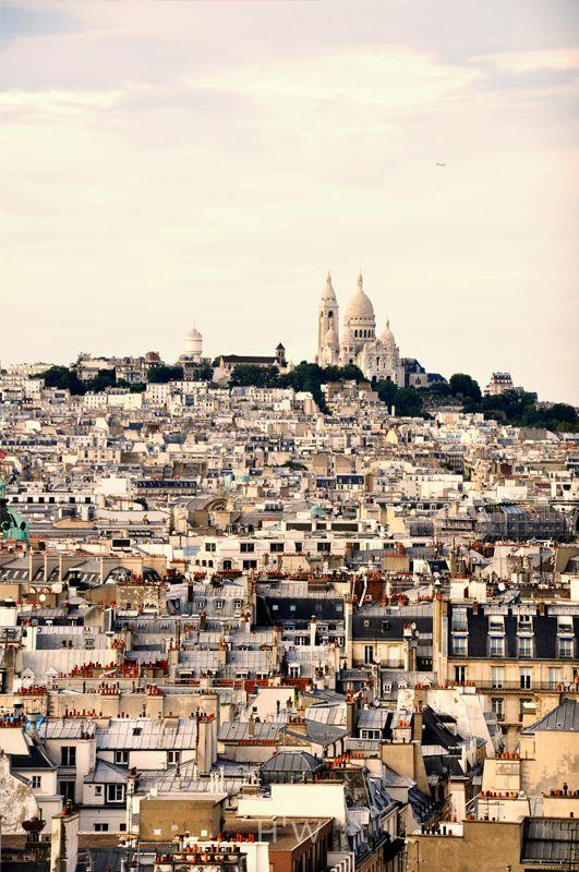 Bazylika Sacré-Cœur na szczycie Montmartre. Paryż. fot. Dagny