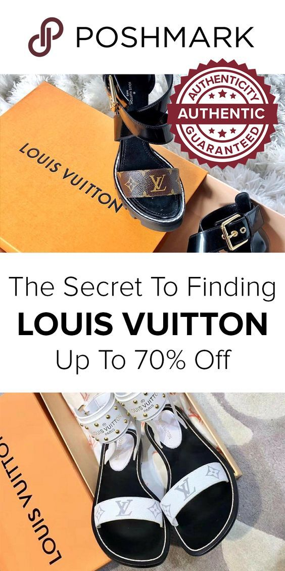 6d49730be10 Shop for Authentic Louis Vuitton sandals and find deals up to 70% off on  Poshmark. Download the app to shop!