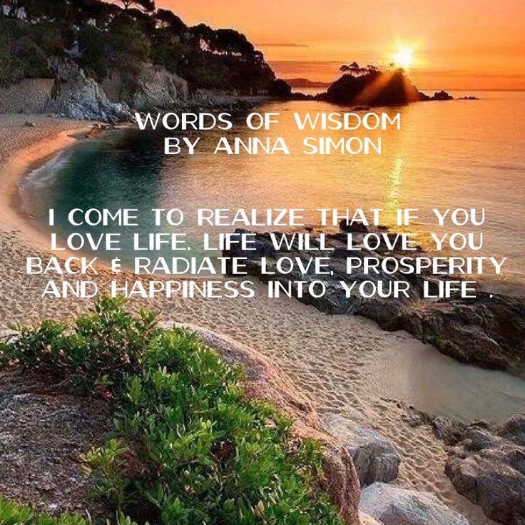 Words of Wisdom Cards by Anna Simon