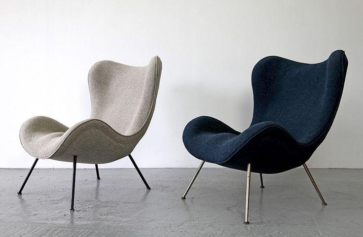 Lounge Sessel von Fritz Neth 1/2 - Adore Modern