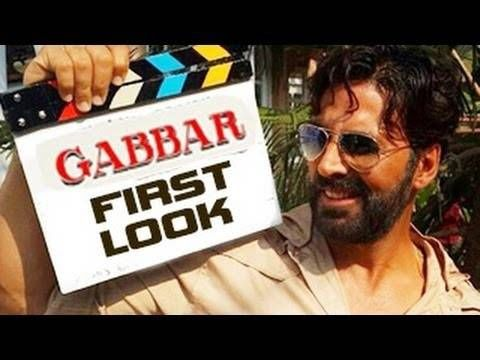 Akshay Kumar Latest Upcoming Bollywood Movie Gabbar First Look . Check other details like other stars , producer , director and release date of the movie