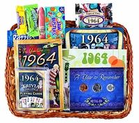 50th Anniversary Gift Basket for 1964 (NEXT YEAR)