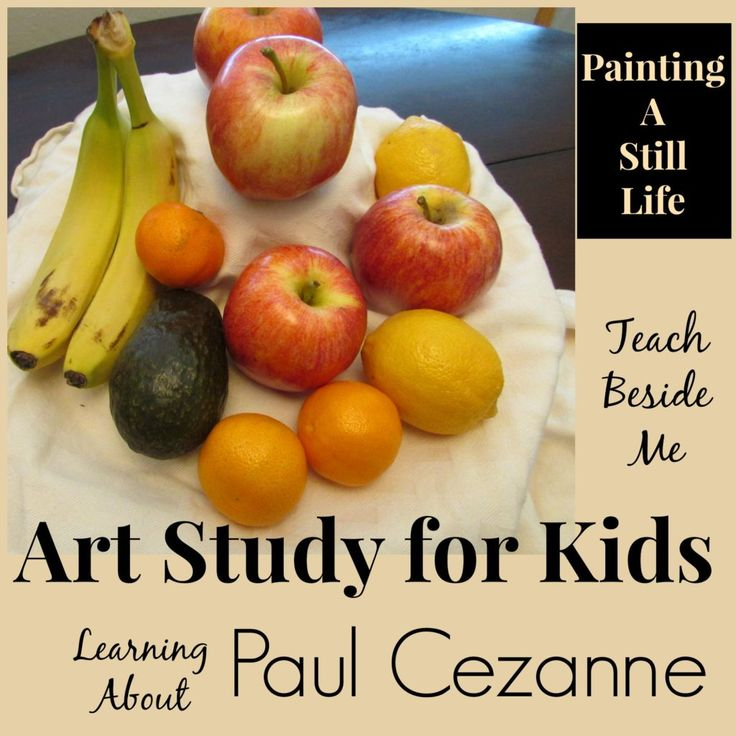 Paul Cézanne artist study, western day... - The Learning ...
