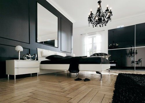 Inspiration: Bedroom Artwork Arrangements from Hülsta