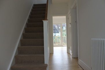 Refurbishment of 1930s semi traditional-staircase
