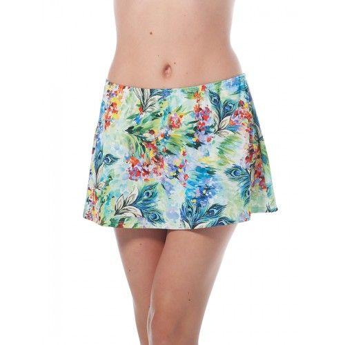 Longitude Swimwear Romantic Pull-on Skirt