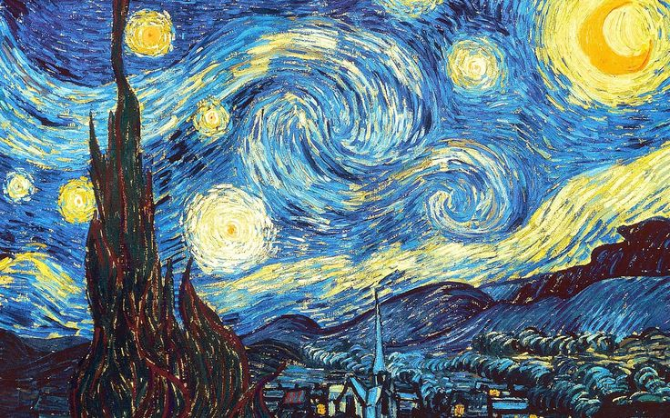 GREAT ARTISTS VINCENT VAN GOGH The Starry Night