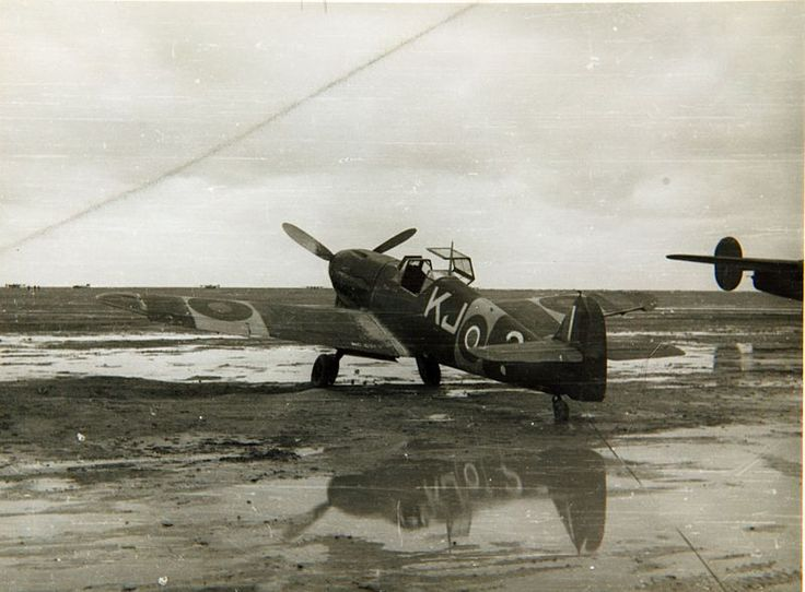 Bf 109F captured by the South African Air Force in 1943