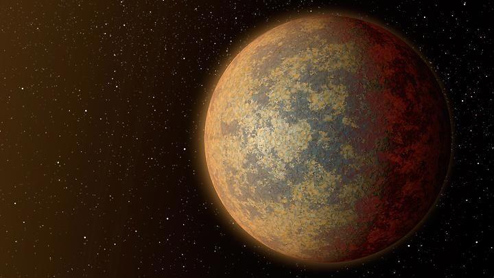 """Astronomers discover """"Super Earth"""". Die neu entdeckte Supererde kann den Astronomen Aufschluss über die Entstehung von Planeten liefern www.n-tv.de)"""