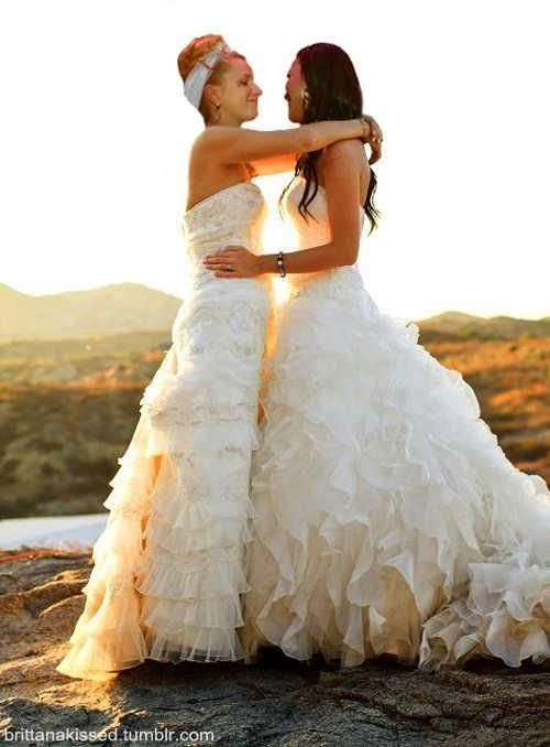 Best Lgbt Weddings Images On Pinterest Lesbian Wedding