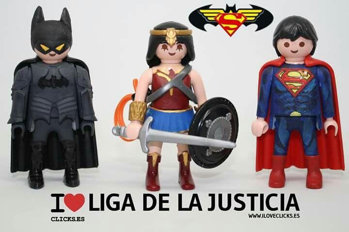 Justice league playmobil lego pinterest playmobil - Batman playmobil ...