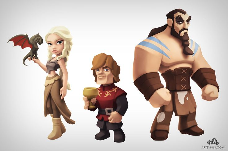 Back in 2013... As I'm a big fan of Disney Infinity figures, I couldn't resist drawing these while following Game of Thrones.